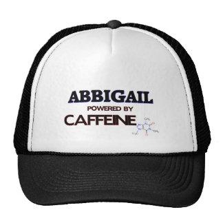 Abbigail powered by caffeine hat