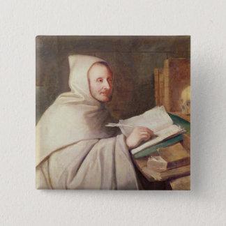 Abbot Armand-Jean le Bouthillier de Rance Pinback Button