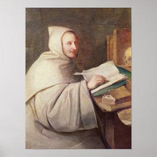 Abbot Armand-Jean le Bouthillier de Rance Print