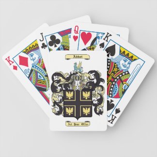 Abbot Bicycle Playing Cards