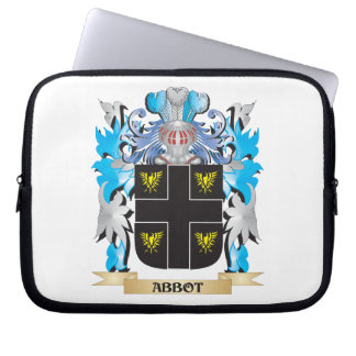 Abbot Coat Of Arms Laptop Computer Sleeves