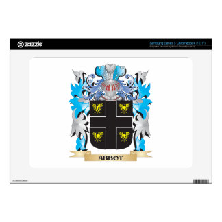 Abbot Coat Of Arms Samsung Chromebook Skin