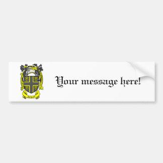 Abbot Crest Bumper Sticker