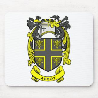 Abbot Crest Mouse Pad