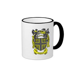 Abbot Crest Ringer Mug