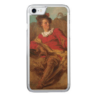 Abbot Dressed as Spaniard by Fragonard Carved iPhone 7 Case