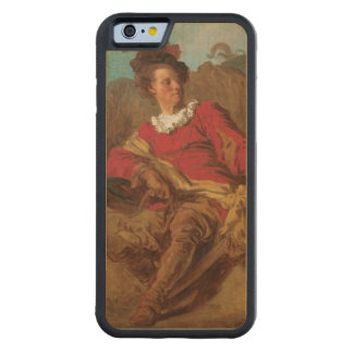 Abbot Dressed as Spaniard by Fragonard Carved® Maple iPhone 6 Bumper Case