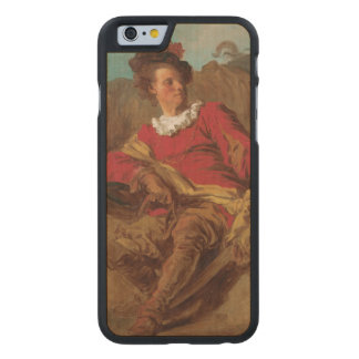 Abbot Dressed as Spaniard by Fragonard Carved® Maple iPhone 6 Case