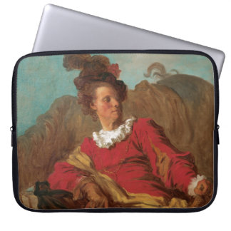 Abbot Dressed as Spaniard by Fragonard Computer Sleeve