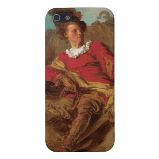 Abbot Dressed as Spaniard by Fragonard Cover For iPhone SE/5/5s