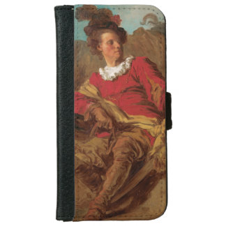 Abbot Dressed as Spaniard by Fragonard iPhone 6 Wallet Case