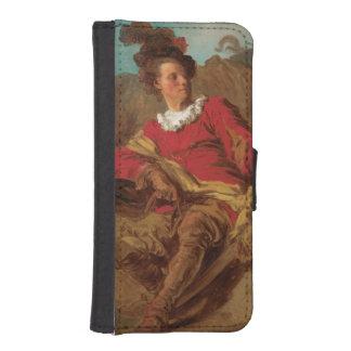 Abbot Dressed as Spaniard by Fragonard Phone Wallet