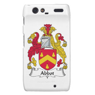 Abbot Family Crest Droid RAZR Covers