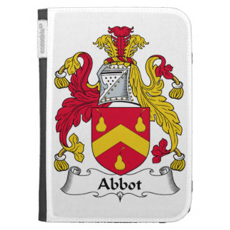Abbot Family Crest Kindle Cases