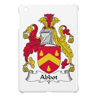 Abbot Family Crest iPad Mini Covers