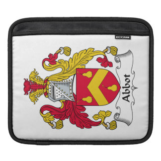 Abbot Family Crest Sleeve For iPads