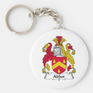 Abbot Family Crest Keychain