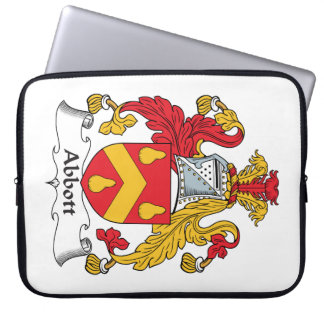 Abbot Family Crest Computer Sleeves