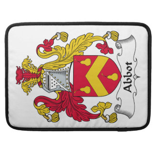 Abbot Family Crest Sleeves For MacBook Pro