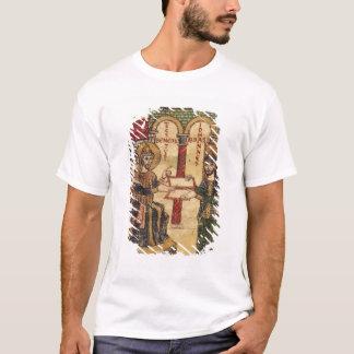 Abbot John offering manuscript Benedict T-Shirt
