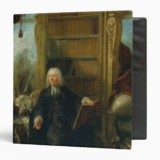 Abbot Nollet  in his study, in chateau 3 Ring Binder
