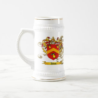 Abbot Shield of Arms Beer Stein