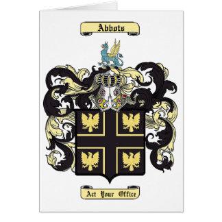 Abbots Card