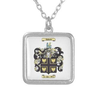 Abbots Square Pendant Necklace