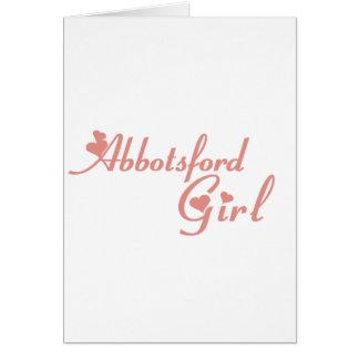 Abbotsford Girl Card