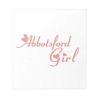 Abbotsford Girl Notepad