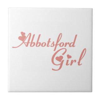 Abbotsford Girl Tile