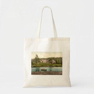 Abbotsford House, Scottish Borders, Scotland Canvas Bags