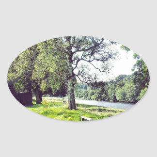 Abbotsford Oval Sticker