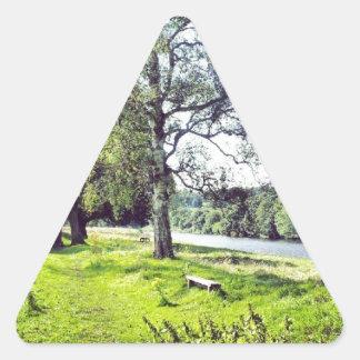 Abbotsford Triangle Sticker