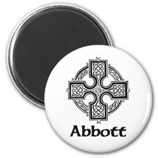 Abbott Celtic Cross Magnet