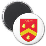 Abbott Coat of Arms/Family Crest Magnets