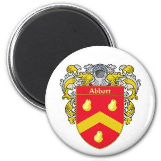Abbott Coat of Arms (Mantled) Magnet