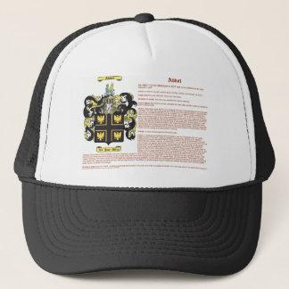 Abbott (english(meaning)) trucker hat