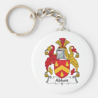 Abbott Family Crest Keychain