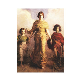 Abbott Handerson Thayer A Virgin Canvas Poster