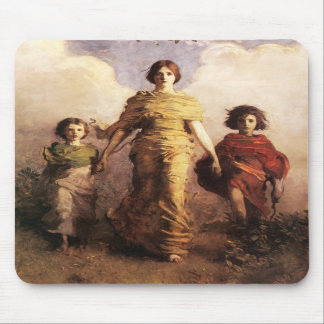 Abbott Handerson Thayer A Virgin Mouse Pad
