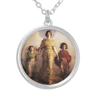 Abbott Handerson Thayer A Virgin Necklace