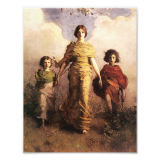 Abbott Handerson Thayer A Virgin Photo Print