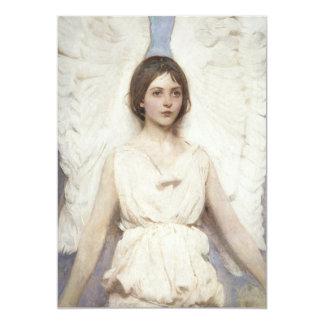 "Abbott Handerson Thayer - ángel Invitación 5"" X 7"""