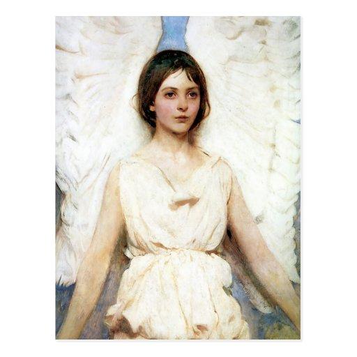 Abbott Handerson Thayer Angel Post Card