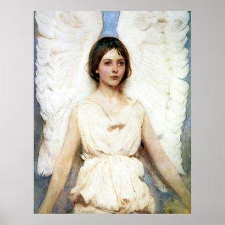 Abbott Handerson Thayer Angel Poster