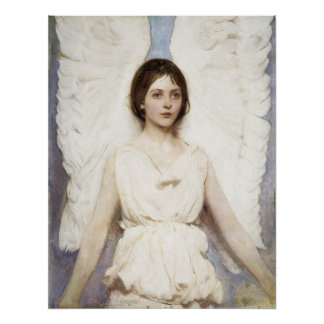 Abbott Handerson Thayer Angel Poster