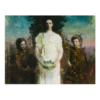 Abbott Handerson Thayer - My Children Postcard