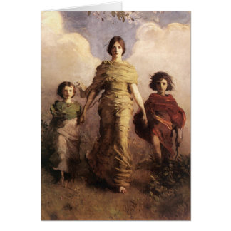 Abbott Handerson Thayer The Virgin Card