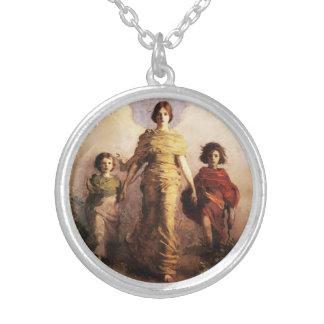 Abbott Handerson Thayer un collar de la Virgen